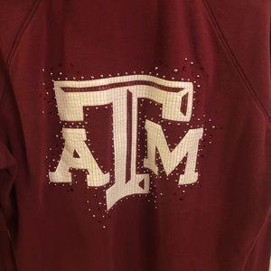 Texas A&M zip up hoodie